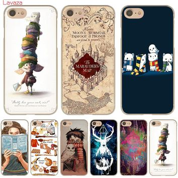 Lavaza harry potter dream magic Hard Case for iphone 4 4s 5c 5s 5 SE 6 6s 6/7/8 plus X for iphone 7 case 1