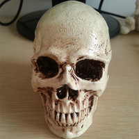 P-Flame small skull New Halloween decoration props realistic a terrorist than a human skull resin skull ornament