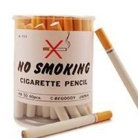 No Smoking Pencils - 60 Cigarette Style Pencils BCA-111