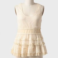 darcy lace detail top at ShopRuche.com