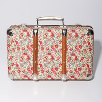 Merci 'Claire Aude' Decorative Small Floral Valise | Nordstrom