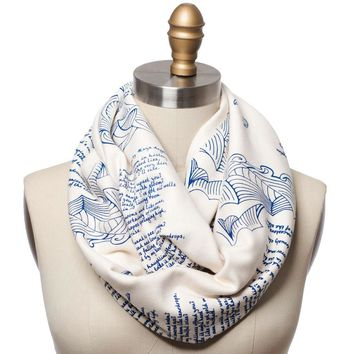 Still I Rise Book Scarf