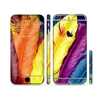 The Hd Color Feathers Sectioned Skin Series for the Apple iPhone 6