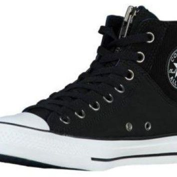 Converse All Star Sneakers Shoes MA-1 ZIP HIGH TOP BOOT Black/White 149398C Mens 4.5 /