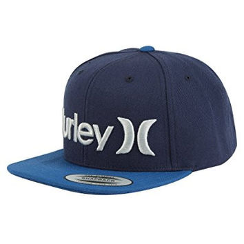 Hurley One and Only Snapback Hat - Obsidian