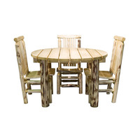 Montana Woodworks    MWEPTV Montana Exterior Stain Patio Table Only Exterior Finish