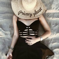 Privacy Please Sunhat