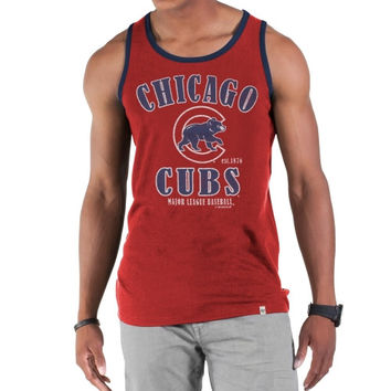 47 Brand Chicago Cubs Till Dawn Tank - Reds