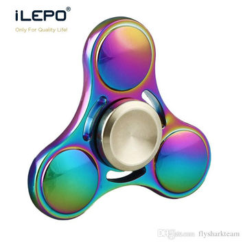 2017BEST selling Luxury Fidget Spinner HandSpinner Hand Spinners Finger EDC Toy For Decompression Anxiety Metal Ceramic Ball Bearing EDC Toy