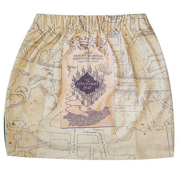 Harry Potter, Tube Skirt, Skirt, Marauders Map, Harry Potter, Rooby lane