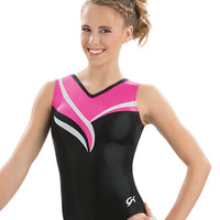 White Ribbon Leotard from GK Elite