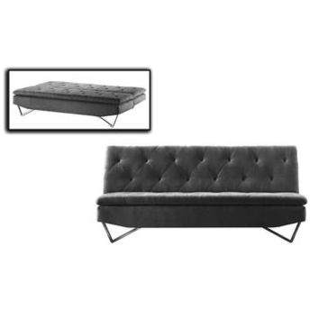 VIG Divani Casa Darlow - Modern Tufted Fabric Sofa Bed