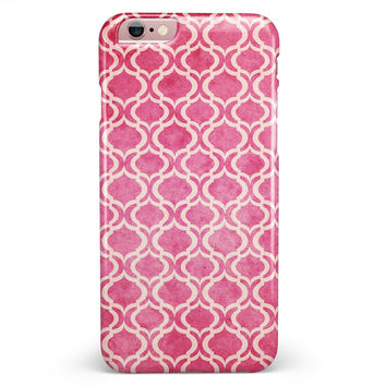Deep Pink Bubble Morrocan Pattern iPhone 6/6s or 6/6s Plus INK-Fuzed Case