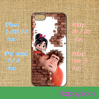 Wreck-It Ralph, iPhone 5 case, iphone 4 case, ipod touch cas, ipod 5 case, ipod 4 case, samsung galaxy S3 , galaxy S4, Blackberry Z10, Q10