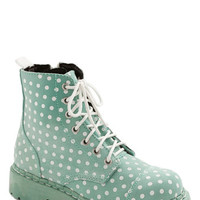 ModCloth Pastel Funky Footprints Boot