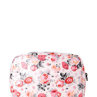 Romantic Rose Large Cosmetic Bag