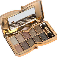 10 Colors Pro Diamond Shining Gold Eye Shadow Powder Makeup Mineral Eyeshadow Cosmetic Beauty Foundation Blusher  HS11