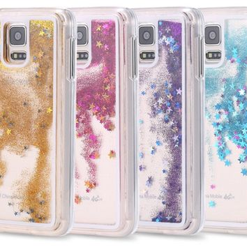 Transparent Star Glitter Phone Case