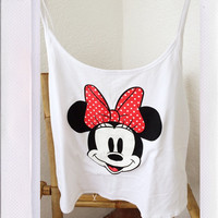 Minnie Top- White