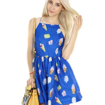 ICE CREAM HEAVEN DRESS