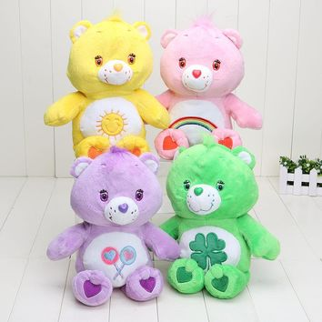 30cm Japanese care bears toy cute Soft Plush toys doll stuffed plush animals gift plush pillow baby chica star