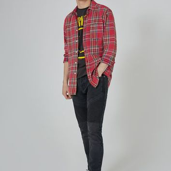 Red Tartan Shirt - New Arrivals - New In