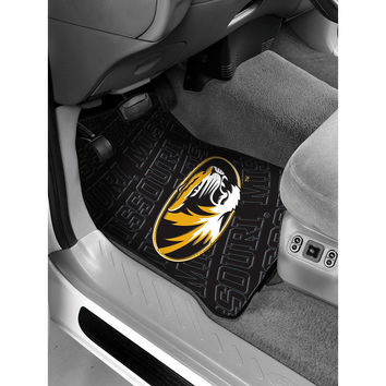 Missouri Tigers NCAA Car Front Floor Mats (2 Front) (17x25)