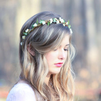wedding accessories, bridal headband, woodland wedding, bridal headpiece, rustic wedding country chic woodland wedding berries halo
