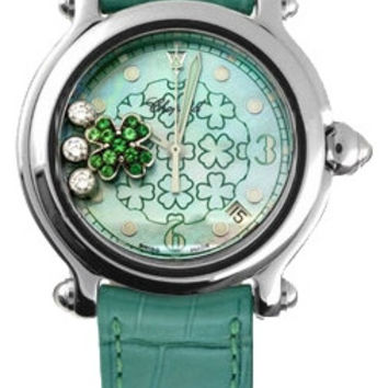 Chopard - Happy Sport - Diamond and Emerald - Good Luck Clover