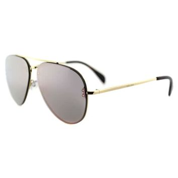 Celine CL 41392 Small Mirror J5G OJ Gold Metal Aviator Pink Mirror Lens Sunglasses | Overstock.com Shopping - The Best Deals on Fashion Sunglasses