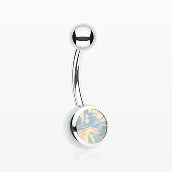 Jelly Belly Unity Gem Belly Button Ring