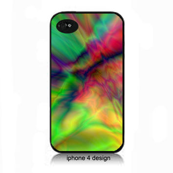 Unique Rainbow Design Iphone 4 case, Iphone case, Iphone 4s case, Iphone 4 cover, i phone case, i phone 4s case