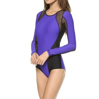 Michi Epic Bodysuit - Indigo | Women's Luxury Activewear