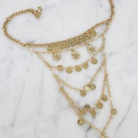 Princess Past Choker in Gold