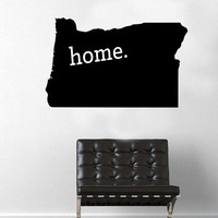 Oregon Home Decal - Home Decor - Car Decal - USA - America - Indoor - Outdoor - Cottage - Perfect Gift - High Quality Vinyl Graphic
