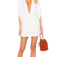 Young, Fabulous & Broke Jennings Dress in White Solid