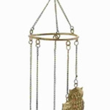 Owl Wind Chime By Benzara