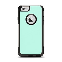 The Subtle Solid Green Apple iPhone 6 Otterbox Commuter Case Skin Set
