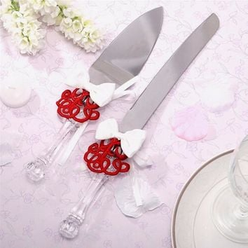 High Quality Cake Knife Set Stainless Steel Server