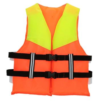 Child Water Sports Life Vest Professional Portable Polyester Inflatable Life Jacket Fishing Life Saving Aid Vest Life Vest