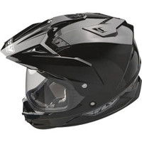 Fly Racing Trekker Motorcycle Helmet 2014 Medium Black