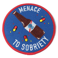 'Menace To Sobriety' Patch