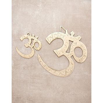 Om Brass Wall Hanging