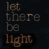 Neon Wall Art - Let There Be -30%
