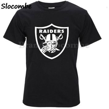 Steal Your Face Oakland Grateful Raiders Skull Dead Footballer Formal Unisex T Shirts Tee T Shirt Round Collar Men's T-shirt