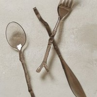 Twig-Handled Flatware by