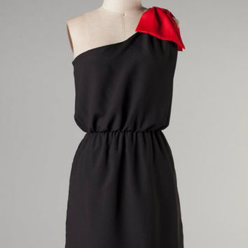 Game Prize Dress -- Black/Red