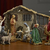 "19 piece real life 7"" nativity"