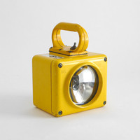 Vintage Yellow Ship Lantern by Hindsvik on Etsy
