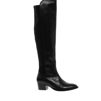 ASOS KOOL Leather Over The Knee Boots